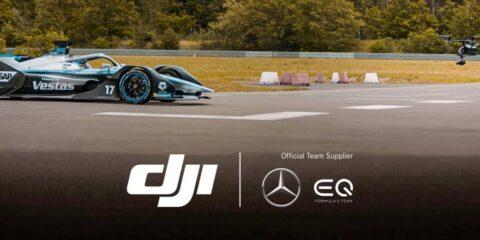Drone Maker DJI Joins Mercedes-Benz EQ Formula E Team