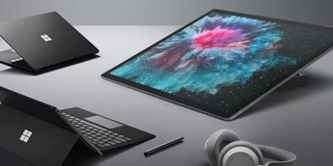 Line up of Surface Devices