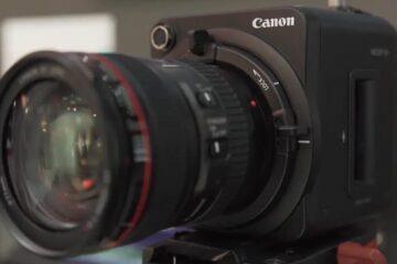 Canon ML-100 sensitivity to light