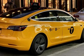 NYC Cabs Now Include Tesla Model 3s